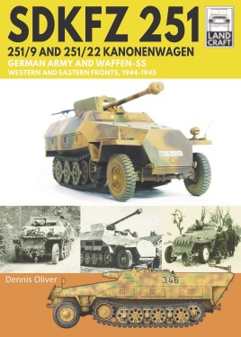 SDKFZ 251 – 251/9 and 251/22 Kanonenwagen